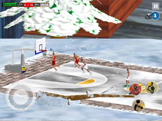 Play Basketball JAM 2017 Christmas Holidays Ed. 3D screenshot 8