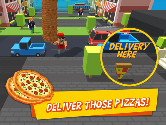 Pizza Street – Deliver that pizza! screenshot 7