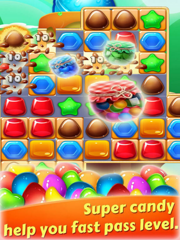Magic Jelly Clast - Candy Link screenshot 4