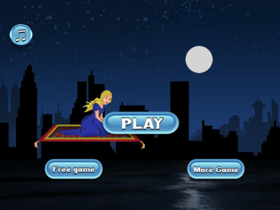 Magical Princess Flying Race - best racing game screenshot 6