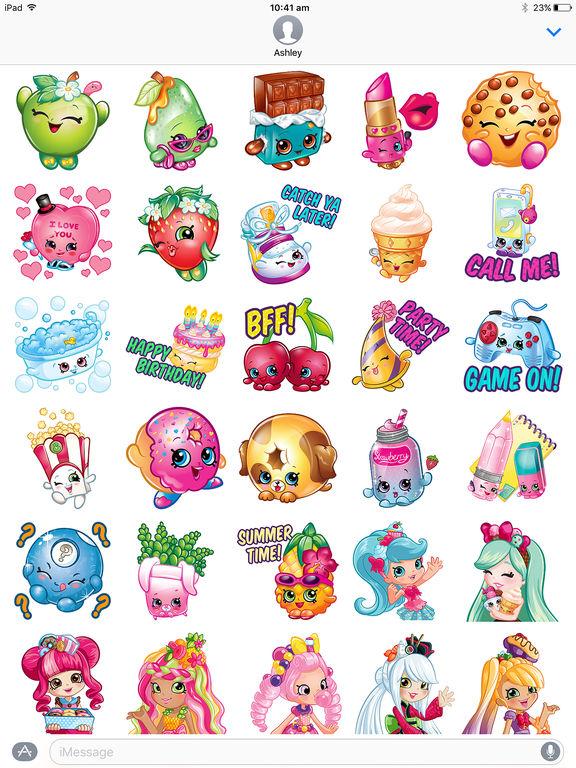 Shopkins: Sticker Fun! screenshot 6