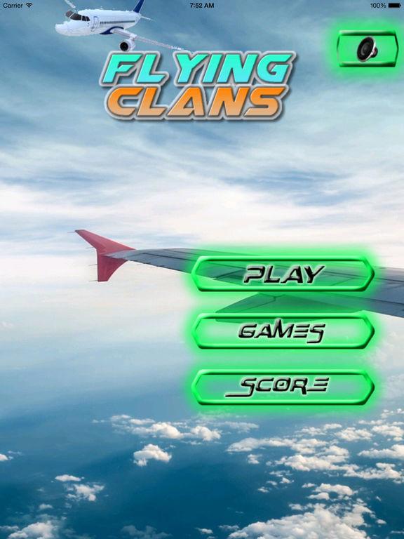 Flying Clans - Airplane Flying Alert screenshot 6
