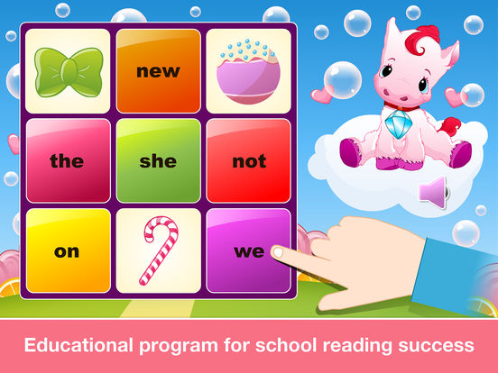 Sight Words Games in Candy Land - Reading for kids screenshot 7