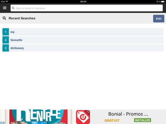 Cambridge English-Arabic Dictionary screenshot 9