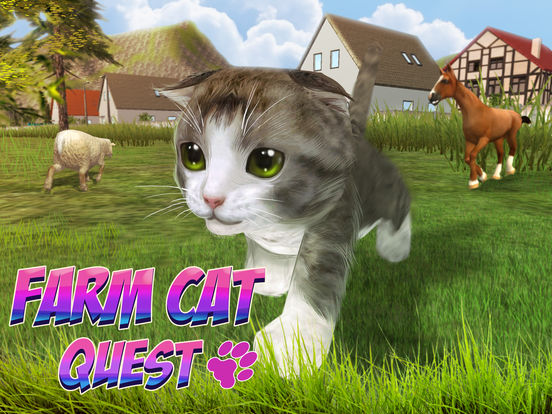 Farm Cat Simulator: Animal Quest 3D Full screenshot 6