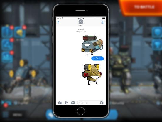 War Robots Stickers screenshot 5