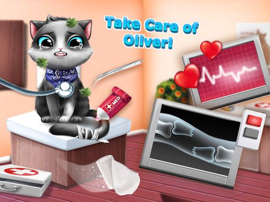 Sweet Baby Girl Cat Shelter – Pet Vet Doctor Care screenshot 9