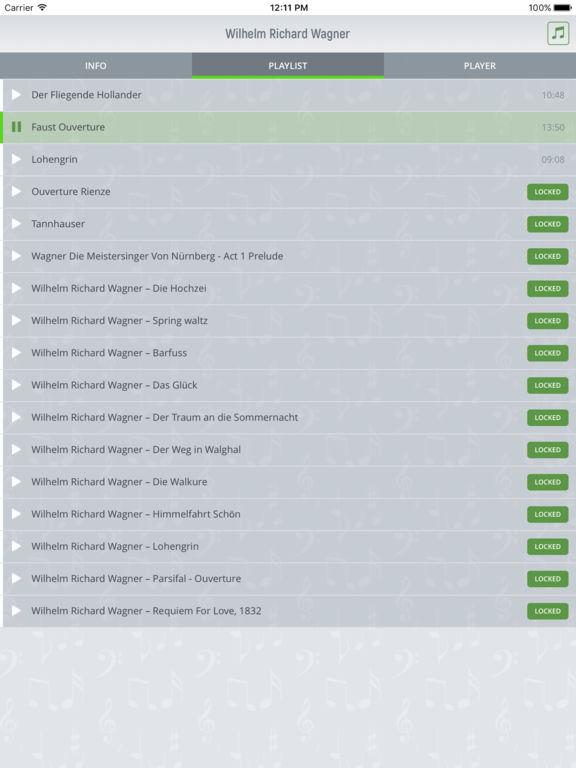 Richard Wagner - Classical Music Full screenshot 7