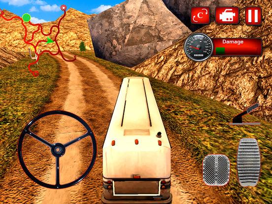 Off-Road Passenger Bus : 3D Adventure On Hill 2016 screenshot 4