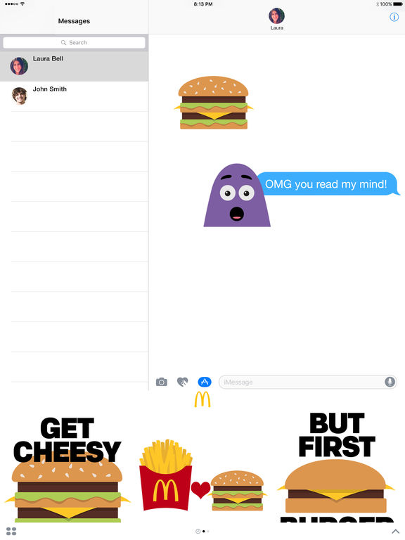 McDonald's US Stickers screenshot 3