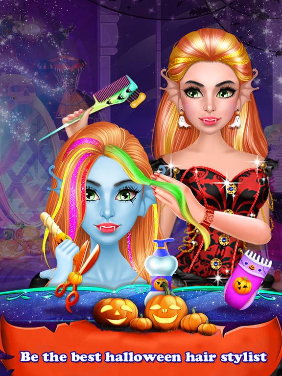 Halloween Holiday Girl Salon screenshot 8