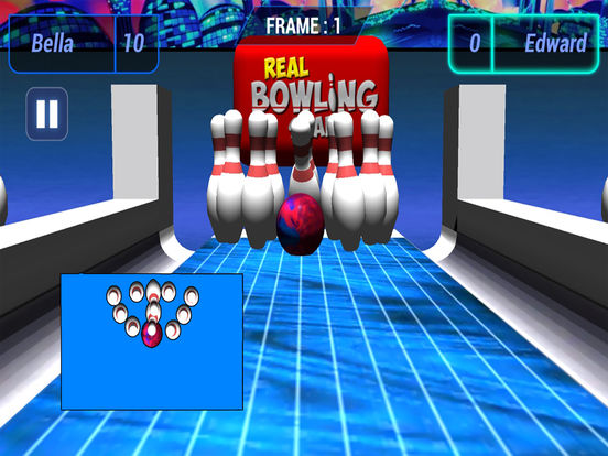 3D Bowling Club : New Free Sports Game 2016 screenshot 5