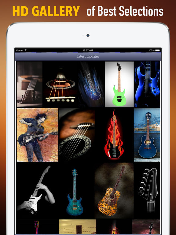 Guitars Wallpapers HD: Quotes Backgrounds with Art Pictures screenshot 6