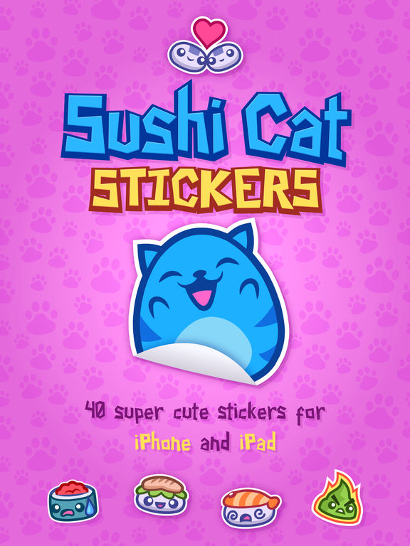 Sushi Cat Stickers screenshot 6