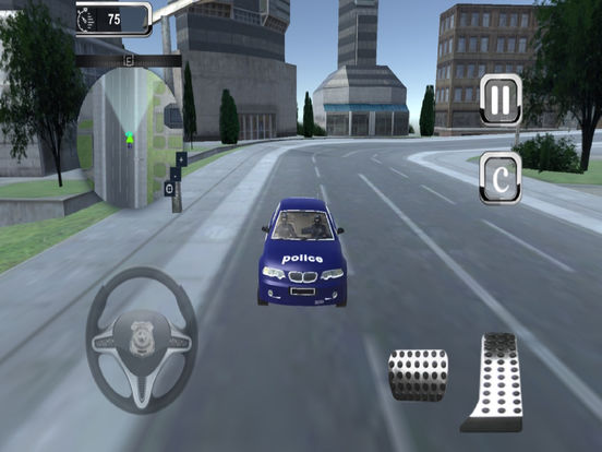 Police Parking Simulator : Real Driving Skill Test screenshot 6