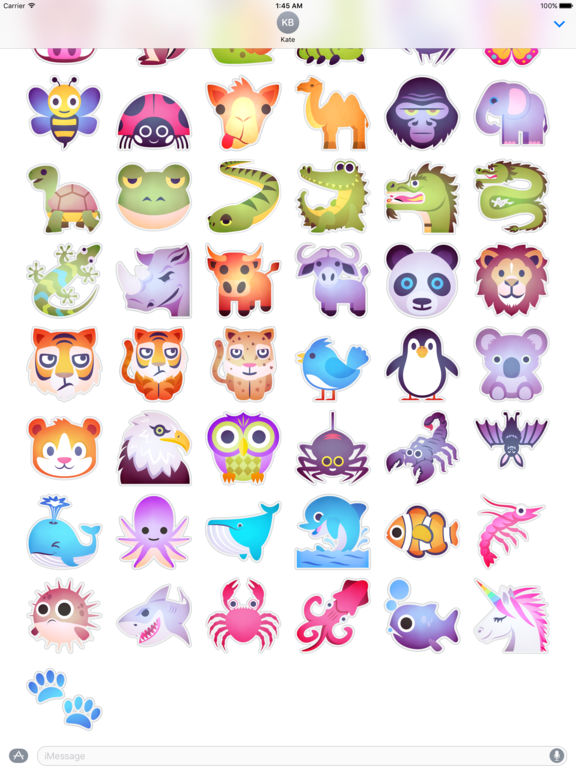 Animals Emoji • Stickers screenshot 7