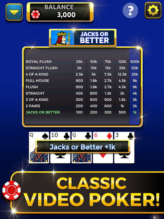 Video Poker: Royal Flush screenshot 6