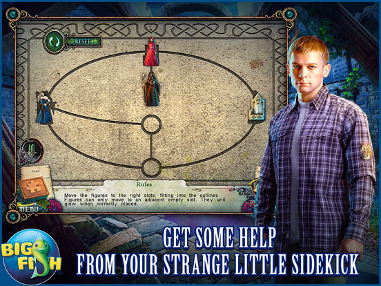 Witches' Legacy: Slumbering Darkness HD - A Hidden Object Mystery (Full) screenshot 3
