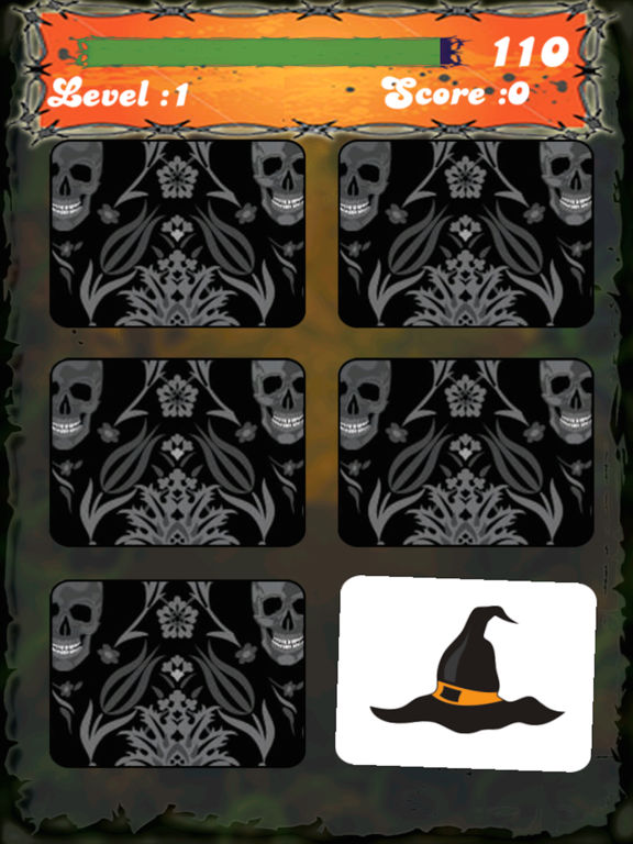 Halloween Match Game - Pairs Memory match game screenshot 8