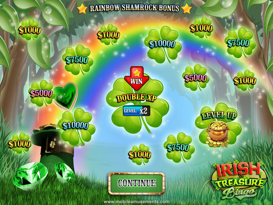 Irish Treasure Rainbow Bingo screenshot 7