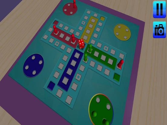 3D Ludo Deluxe : New Top Strategy Game 2016 screenshot 4