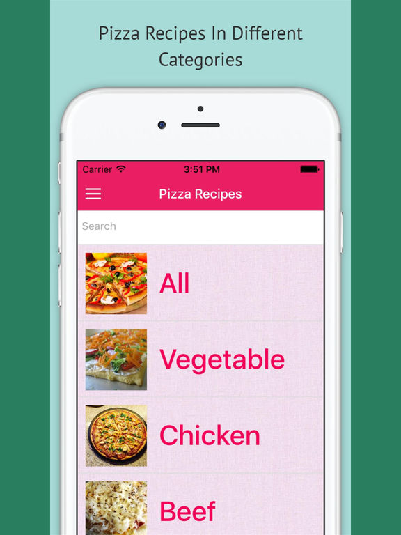 Pizza Recipes - Free Offline Recipes screenshot 4