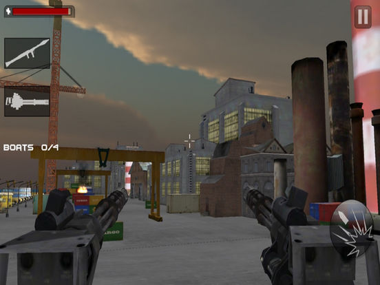 Seaport Defence Fighter : 3D Action Game screenshot 5