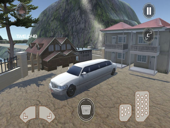 Off-Road Limousine Simulation : Crazy ride on hill screenshot 8