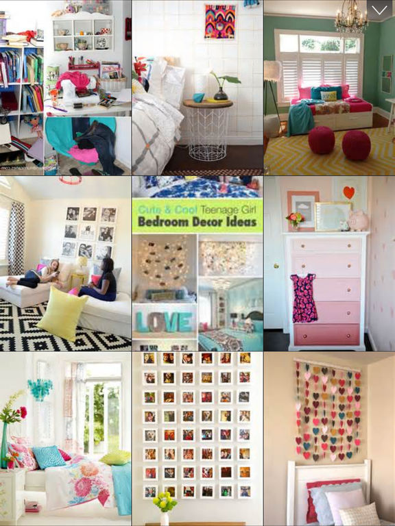 Teen Room Decor Ideas, Teenager Room Designs Plans screenshot 6