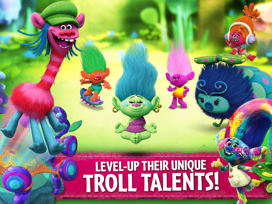 Trolls: Crazy Party Forest! screenshot 8