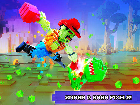Super Pixel Heroes 2019 screenshot 7