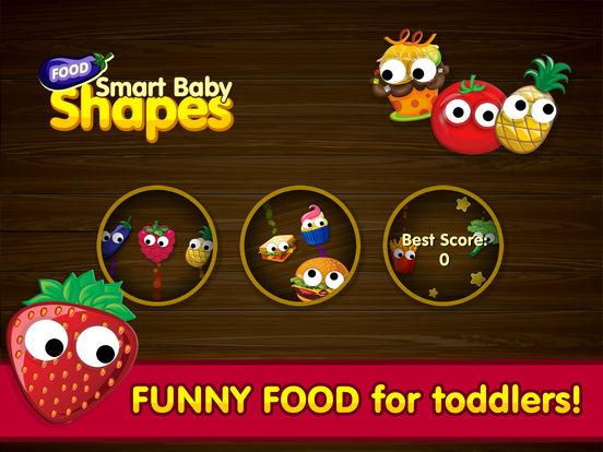 Kids Food Games: Toddlers, Boys Girls Puzzle Free screenshot 5