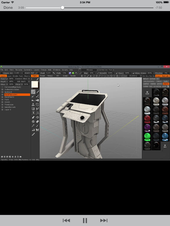 LearnFor 3DCoat screenshot 8