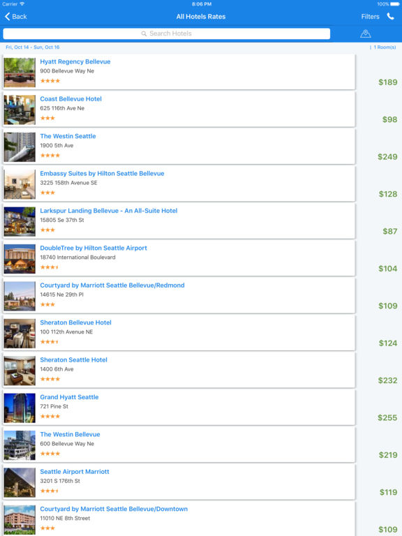 i4seattle - Seattle Hotels, Yellow Pages Directory screenshot 10