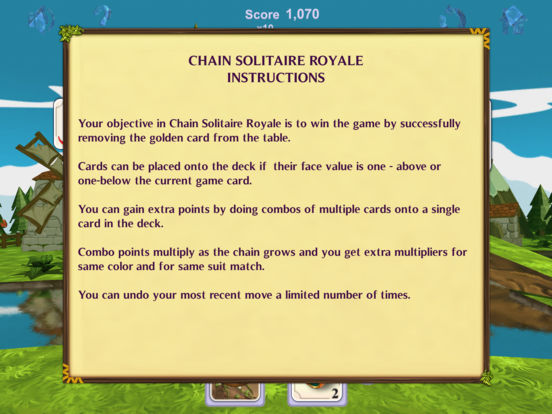 Chain Solitaire Royale screenshot 7