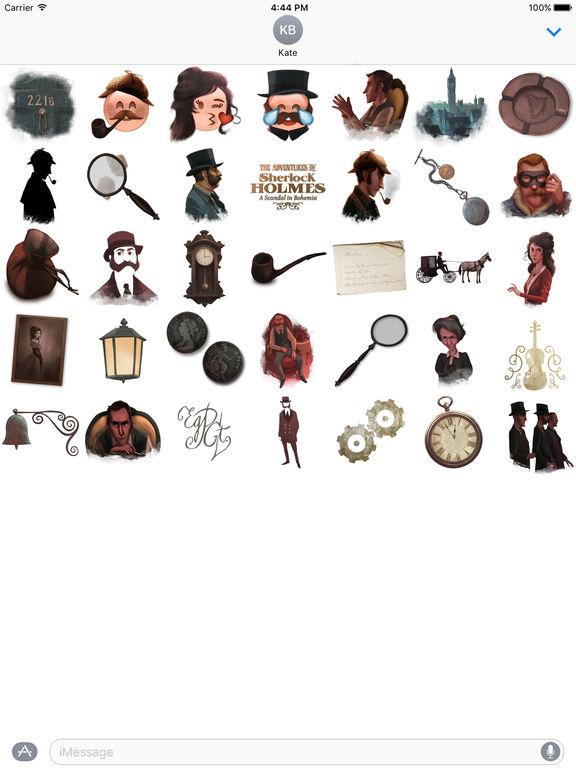 Sherlock Holmes Stickers screenshot 3