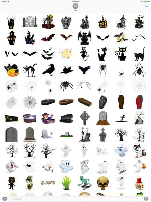 Halloween Sticker Pack - 200+ Stickers screenshot 5