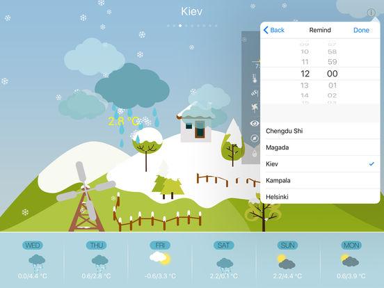 Cute Weather HD screenshot 10