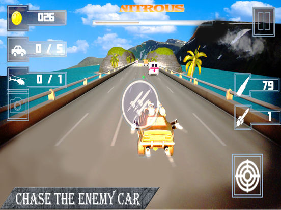 Weapon Car Rider : Highway Shooting Race-r 3D screenshot 4