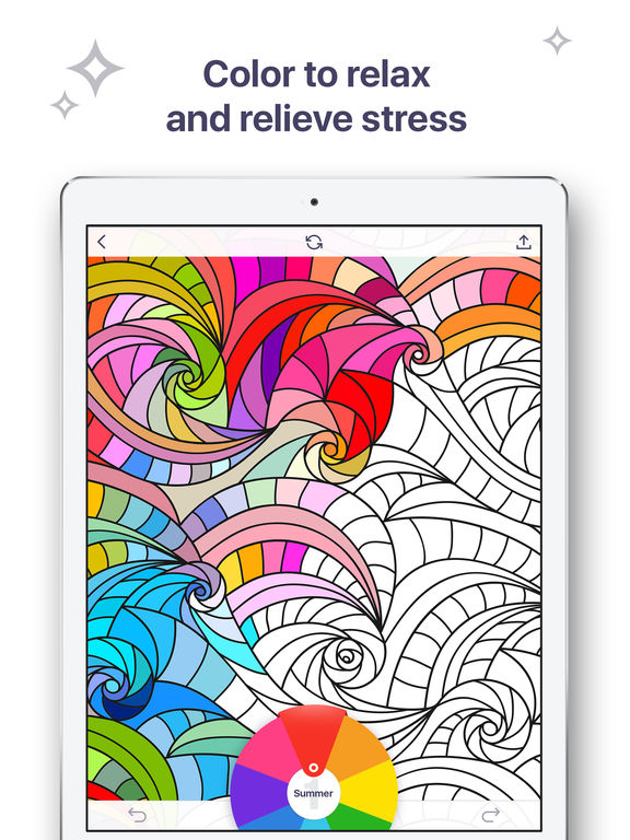 It is an image of Eloquent coloring book for me app