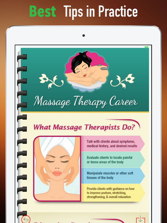Massage Therapy 101- Therapist Tips with Tutorial screenshot 9