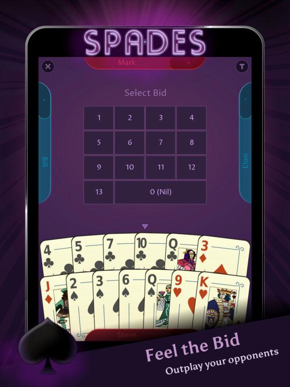 Spades - Offline screenshot 6