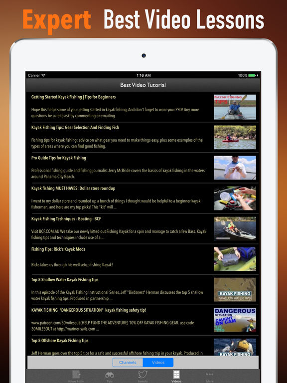 Kayak Fishing Quick Reference - Tips and Guide screenshot 7