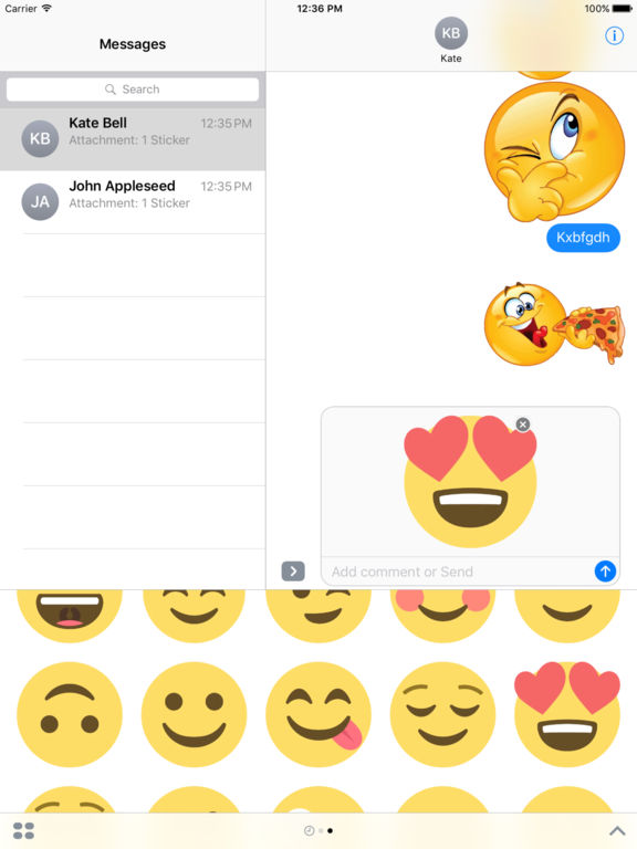Best Stickers iMessage Edition screenshot 6