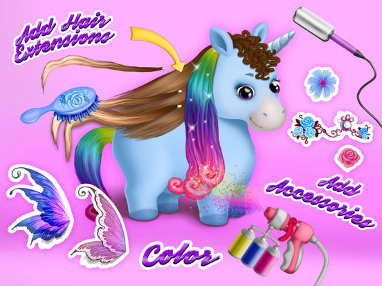 Pony Sisters Hair Salon 2 - Pet Horse Makeover Fun screenshot 9