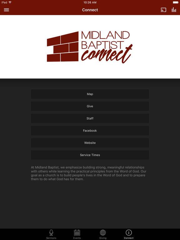 Midland Baptist Connect screenshot 6