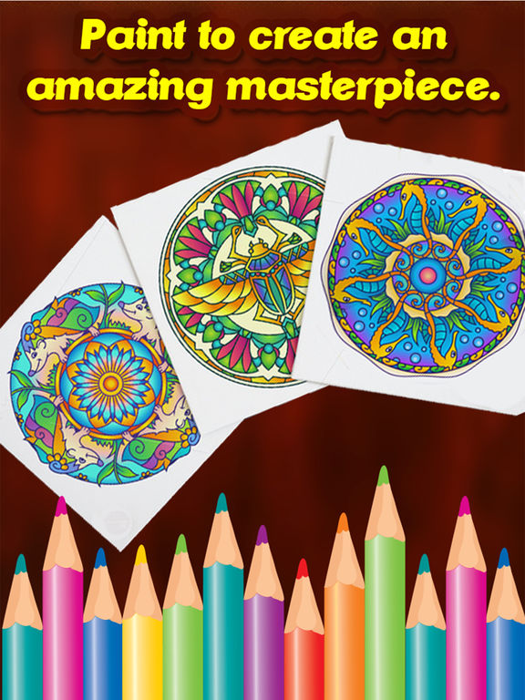 Animal Mandala Coloring Pages - Adult Color Book Apps 148Apps