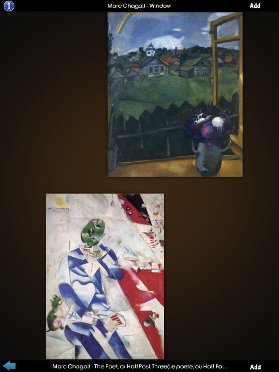 Marc Chagall Art Gallery screenshot 8