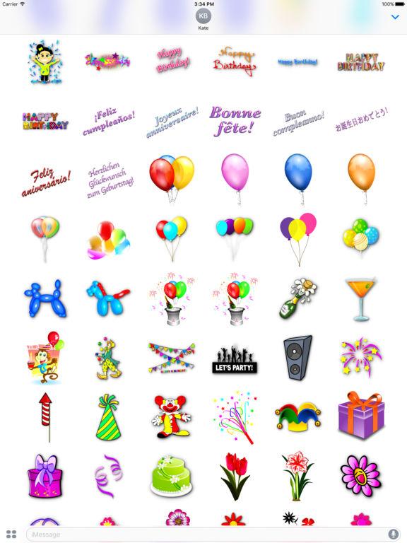 Happy Birthday! • Stickers screenshot 7