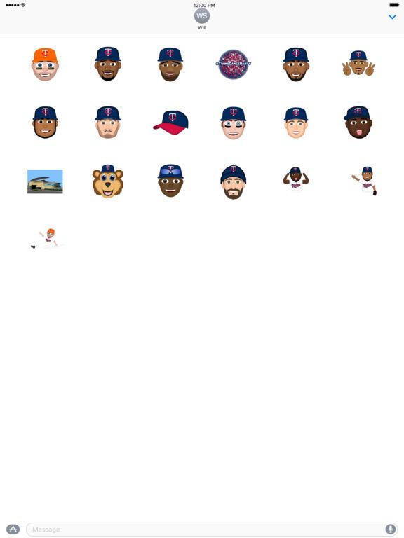 Minnesota Twins 2016 MLB Sticker Pack screenshot 3